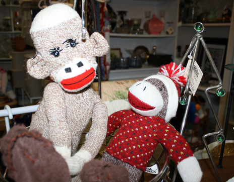 Franklin_North_Carolina_Whistlestop_Depot_Sock_Monkeys