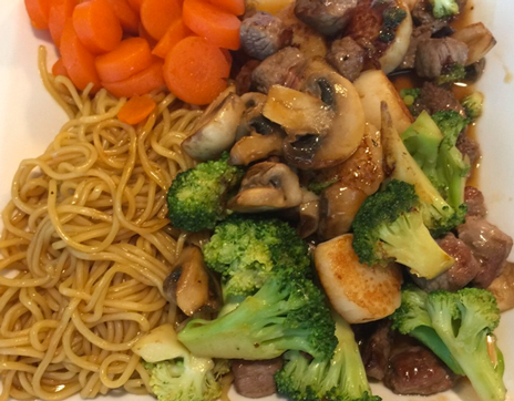 hibachi_chicken_broccoli_mushrooms_franklin_north_carolina_kobe_express