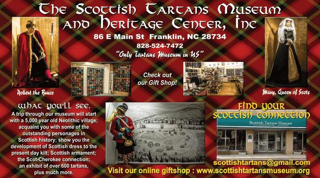 ad_scottish_tartans_museum_franklin_north_carolina
