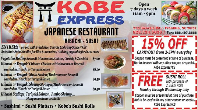 Kobe_Express_Asian_Restaurant_Franklin_North_Carolina_ad_2021