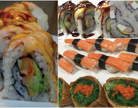 sushi_variety_asian_king_buffet_franklin_north_carolina