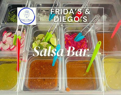 salsa_Bar_fridas_and_diego_mexican_cuisine_franklin_north_carolina